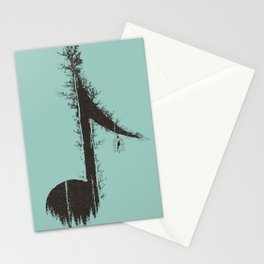 Nature has music for those who listen Stationery Cards