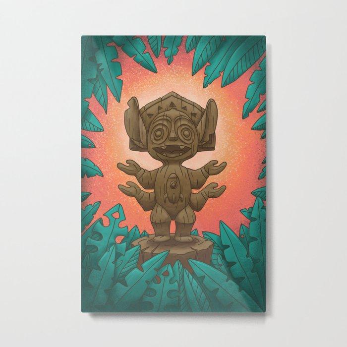 Tiki 626 Metal Print