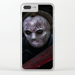 The 13th Slasher Clear iPhone Case
