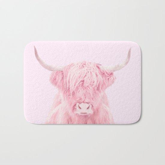 HIGHLAND COW Bath Mat