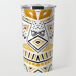 Tribal Festival Noir Travel Mug