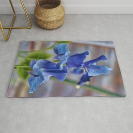 Sweet Pea Flower Rug