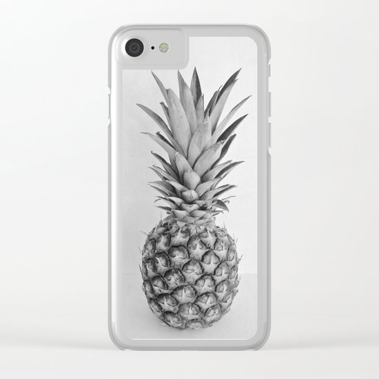 Pineapple II Clear iPhone Case