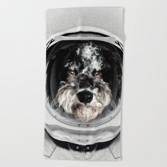 Buster Astro Dog Beach Towel