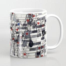 Hearts on the Move Coffee Mug