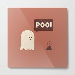 Poo Metal Print