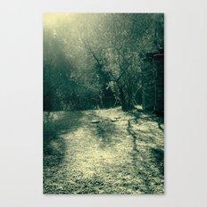 Frozen day n.1 Canvas Print