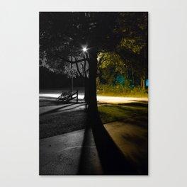 Split Night Canvas Print