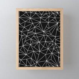 Geometric Jane 2 Framed Mini Art Print