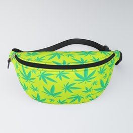 Weed Pattern Fanny Pack