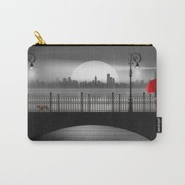The bridge in the summer rain Carry-All Pouch