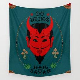 Do Drugs, Hail Satan Wall Tapestry