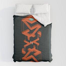 Monument Maze Comforters