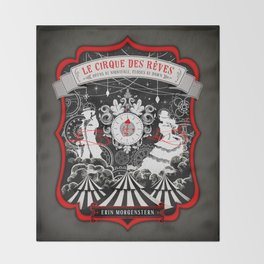 The Night Circus Throw Blanket