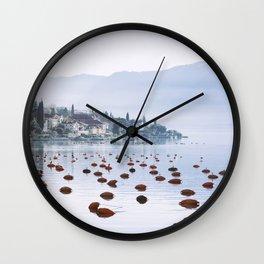 Kotor Bay Wall Clock