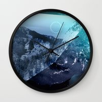 window Wall Clocks featuring Window by DM Davis