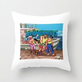 Teen Runnings - SF Throw Pillow