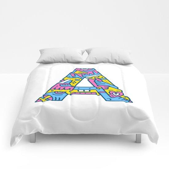 A, OK? Comforters