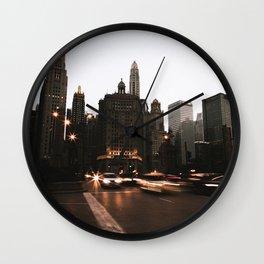 Headlights Wall Clock