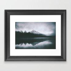 Mount Hood X Framed Art Print