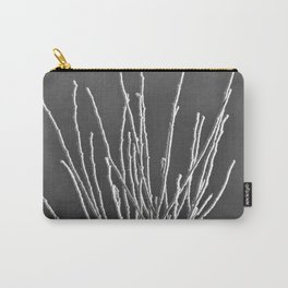 Frosted Plants 1 Carry-All Pouch