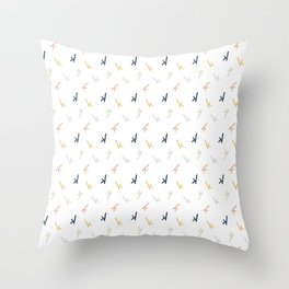K Confetti Throw Pillow