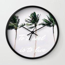 Koh Samui Wall Clock