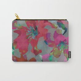 Lily Blooms Carry-All Pouch