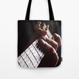 Sunset Strumming Two Tote Bag