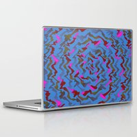 fabric Laptop & iPad Skins featuring Fabric A by Vitta
