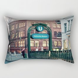 Subway 1 Rectangular Pillow