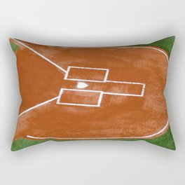 Bassballfield II Rectangular Pillow
