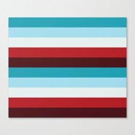 Stripes - Cheerful Canvas Print