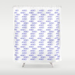 amen 5 Shower Curtain