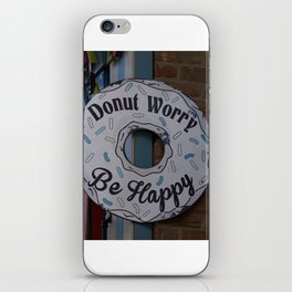 Don't worry be #Happy iPhone Skin