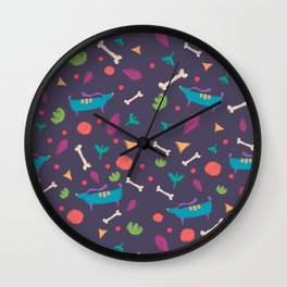 Puppy style Wall Clock