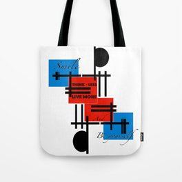 Thinkless & Be yourself Tote Bag