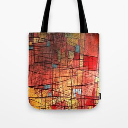 COLOR LINES Tote Bag