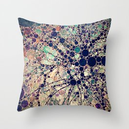 Colorful tree loves you and me. Throw Pillow