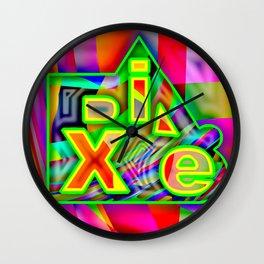 Dix.e #3 Wall Clock