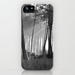 lumineuse brume iPhone Case