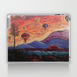 The Balloony Sunrise Laptop & iPad Skin