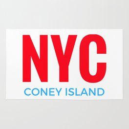 NYC Coney Island Rug