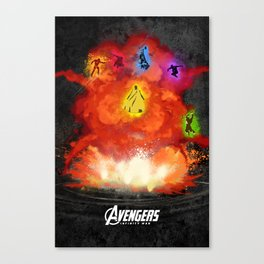 Infinity War Canvas Print
