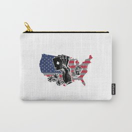 American Poker Gamble art work Carry-All Pouch