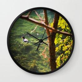 Little Quacker Wall Clock