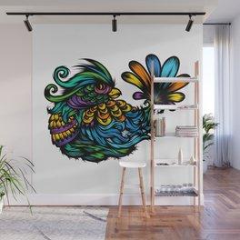 Fancy Bird too Wall Mural