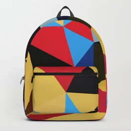 Geometric Abstract Art Pattern Eleven Backpack