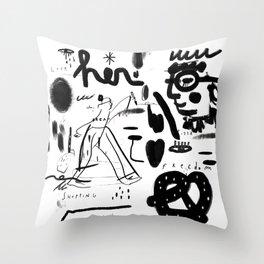 Flipper Throw Pillow