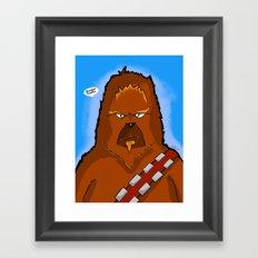 Chewie Framed Art Print